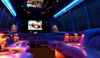 18 passenger party bus rental fresno