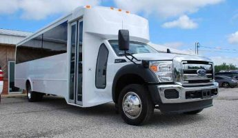 22 passenger party bus rental fresno