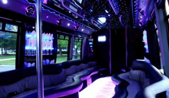 22 people party bus limo fresno
