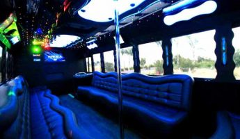 40 people party bus fresno
