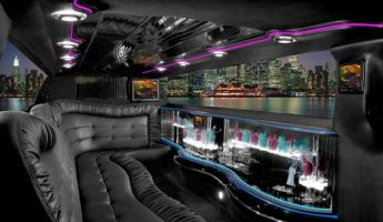 Chrysler 300 limo interior fresno