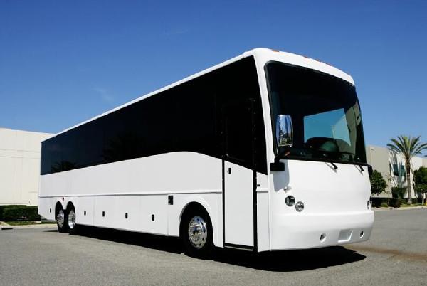 Fresno 50 Passenger Charter Bus