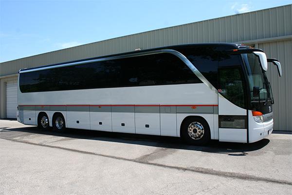 Fresno 56 Passenger Charter Bus